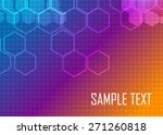 color abstract background | Shutterstock .eps vector #271260818