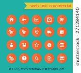 modern flat material web  ...   Shutterstock .eps vector #271284140