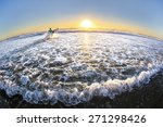 fisheye view of gold coast... | Shutterstock . vector #271298426