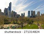 central park and manhattan... | Shutterstock . vector #271314824