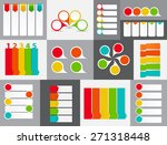 big set of infographic banner... | Shutterstock .eps vector #271318448
