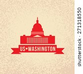united states capitol   the... | Shutterstock .eps vector #271318550