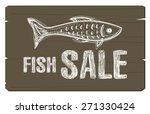 Fish Sale Concept Banner