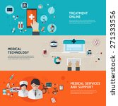 online medical diagnosis and... | Shutterstock .eps vector #271333556