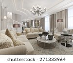 luxury studio interior. 3d... | Shutterstock . vector #271333964