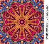 festive colorful tribal ethnic...   Shutterstock . vector #271339364