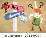 great illustration of retro... | Shutterstock .eps vector #271349714