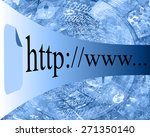 many abstract images on the... | Shutterstock . vector #271350140
