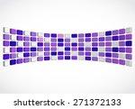 vector abstract background 3d... | Shutterstock .eps vector #271372133