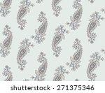 seamless pattern based on... | Shutterstock .eps vector #271375346
