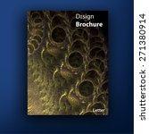 vector colorful brochure  ... | Shutterstock .eps vector #271380914