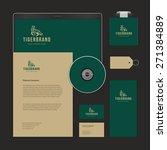 luxury logotype presentation...   Shutterstock .eps vector #271384889