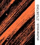 grunge textured wood background | Shutterstock .eps vector #271387343