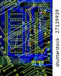 circuit board | Shutterstock . vector #27139939