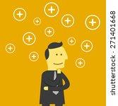 positive thinking | Shutterstock .eps vector #271401668