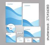 corporate identity business set ...   Shutterstock .eps vector #271416383