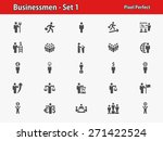 business people icons.... | Shutterstock .eps vector #271422524