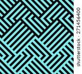 seamless geometric striped... | Shutterstock .eps vector #271456400