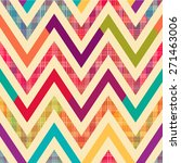 Seamless Bright Chevron Patter...
