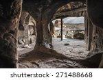 amazing uplistsikhe cave town... | Shutterstock . vector #271488668
