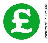 Sterling Symbol Icon.