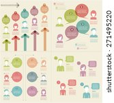 people icons with chat speech... | Shutterstock .eps vector #271495220