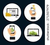money icons design  vector... | Shutterstock .eps vector #271507979