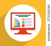 statistics graph design  vector ... | Shutterstock .eps vector #271510169