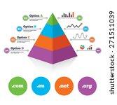 pyramid chart template. top... | Shutterstock .eps vector #271511039