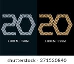 20  luxury abstract jewelry... | Shutterstock .eps vector #271520840