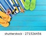 Summer Sunbathing Beach...