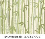 bamboo forest background in... | Shutterstock .eps vector #271537778