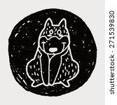 doodle dog   Shutterstock . vector #271539830