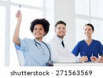 hospital  profession  people... | Shutterstock . vector #271563569