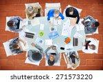 meeting communication planning... | Shutterstock . vector #271573220