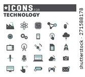 technology innovation... | Shutterstock .eps vector #271588178