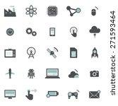 technology innovation... | Shutterstock .eps vector #271593464