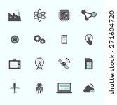 technology innovation... | Shutterstock .eps vector #271604720