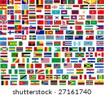 flags of all world countries.... | Shutterstock . vector #27161740