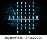 education concept  pixelated... | Shutterstock . vector #271620320