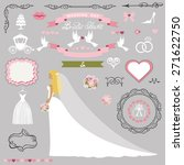 wedding bridal shower... | Shutterstock .eps vector #271622750