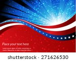 abstract image of the american... | Shutterstock .eps vector #271626530