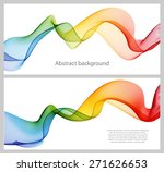Set Of Abstract Banners Colored ...