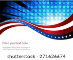 abstract image of the american... | Shutterstock .eps vector #271626674
