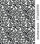 seamless leopard skin texture ...   Shutterstock .eps vector #271633550