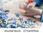 puzzle | Shutterstock . vector #271643966