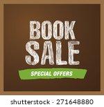 book sale | Shutterstock .eps vector #271648880