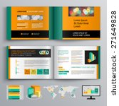 green business brochure... | Shutterstock .eps vector #271649828
