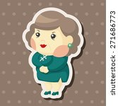 family mother character theme... | Shutterstock .eps vector #271686773