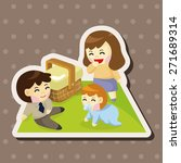 family theme elements | Shutterstock .eps vector #271689314
